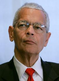 Julian Bond at the National Press Club.