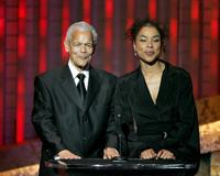 Julian Bond and Sophie Okonedo at the 36th NAACP Image Awards.