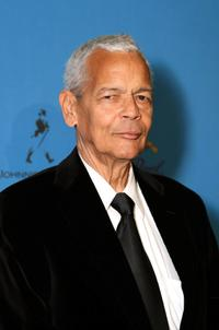 Julian Bond at the 39th NAACP Image Awards after party.