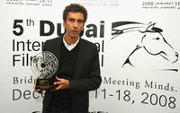 Rachid Bouchareb at the 5th Dubai International Film Festival.