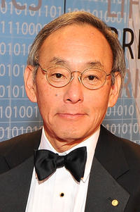Steven Chu at the 2014 Breakthrough Prize Inaugural Ceremony for Awards in Fundamental Physics and Life Sciences at NASA Ames Research Center.