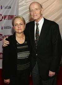 Peter Boyle and his wife Lorraine Alterman at the Showtime and Broadway Cares/Equity Fights AIDS Presents Liza With A