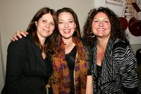 Elizabeth Bracco, Sharon Angela and Aida Turturro at the First Annual Birthday party.