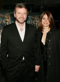 Aidan Quinn and wife Elizabeth Bracco at the sixth season premiere of