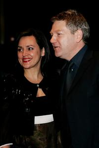 Kenneth Branagh and his wife Lindsay Brunnock at the UK premiere of