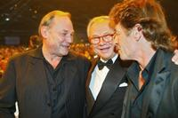 Klaus Maria Brandauer, Hubert Burda and Peter Maffay at the 55th Bambi ceremony.