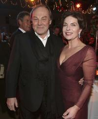 Klaus Maria Brandauer and Gudrun Landgrebe at the Deutsches Theatre for the Diva Awards.