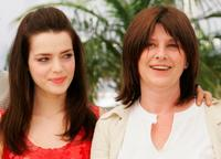Catherine Breillat and Roxane Mesquida at the photocall to promote