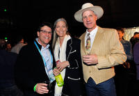 Kevin Breslin, Mary Brannaman and Buck Brannaman at the 2011 Sundance Film Festival Awards Night Ceremony.