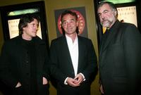 Gabriel Byrne, Nick Broomfield and Director William Schulz at the special screening of