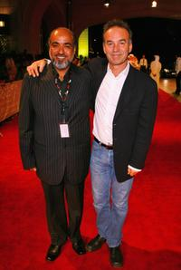 Nick Broomfield and Sayed Badreya at the premiere of