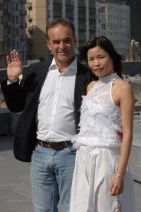 Nick Broomfield and Ai Qin Lin at the photocall for