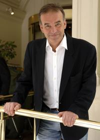 Nick Broomfield at the promotion of