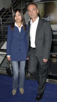 Nick Broomfield and Ai Qin at the gala screening of