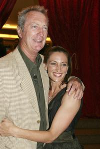 Bryan Brown and Georgie Parker at the Hollywood Nights Charity Dinner in aid of the Prince of Wales Hospital Foundation.