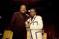 Jim Brown and Spike Lee at the San Francisco International Film Festival Awards Night.