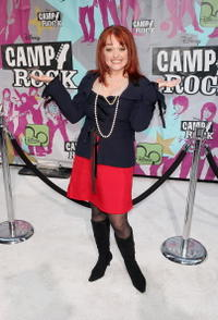 Julie Brown at the premiere of