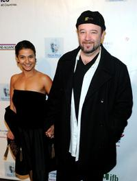 Barney Burman and Guest at the 5th Annual Oscar Wilde: Honoring The Irish In Film.