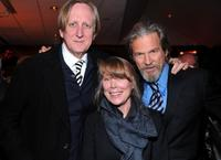 T-Bone Burnett, Sissy Spacek and Jeff Bridges at the after party of the premiere of