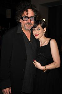 Tim Burton and Winona Ryder at the Spike TV's 2008 Scream Awards.