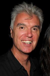 David Byrne at the Narciso Rodriguez 2008 Fashion Show during the Mercedes-Benz Fashion Week Spring 2008.