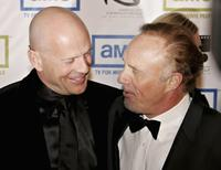 James Caan and Bruce Willis at the 20th Annual American Cinematheque Award Honoring Al Pacino at the Beverly Hilton Hotel.
