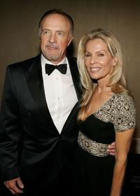 James Caan and Linda Stokes at the 20th Annual American Cinematheque Award Honoring Al Pacino at the Beverly Hilton Hotel.