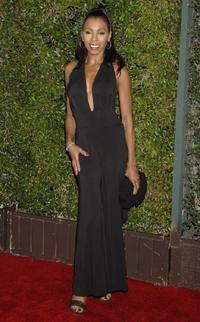 Khandi Alexander at the CBS celebration of Monday night season premieres.