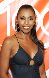 Khandi Alexander at the CSI Miami 100th Episode party.