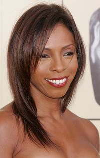 Khandi Alexander at the 3rd Annual British Academy of Film and Television Art/Los Angeles Tea party.