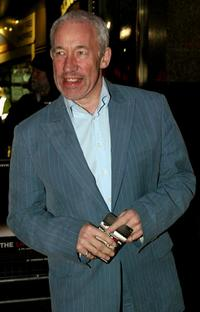 Simon Callow at the premiere of the film