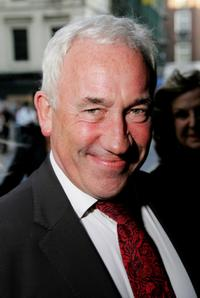 Simon Callow at the UK premiere of