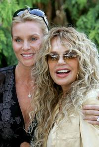 Dyan Cannon and Nicollette Sheridan at the Playboy Mansion for 12th Annual Safari Brunch, a fundraiser for the Wildlife Waystation.