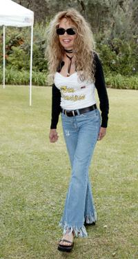 Dyan Cannon at the Hamilton Estate for the Eight Annual Wildlife Waystation Safari Brunch Fund raiser.