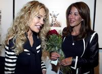 Dyan Cannon and Lyndie Benson at the Edgemar Center for the Arts for the opening of