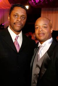 Lawrence Hilton-Jacobs and Todd Bridges at the 5th Annual TV Land Awards.