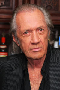 David Carradine at the meet-and-greet for ''The Golden Boys'' at the Playwright Tavern.