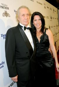 David Carradine and Annie Bierman at the Children Uniting Nations' 9th Annual awards celebration and viewing dinner.