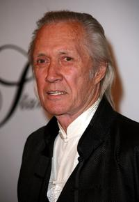 David Carradine at the Beverly Hills Hotel for the 17th Annual Night Of 100 Stars Oscar Gala.