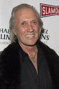 David Carradine at the Treasure Mountain Inn during the 2007 Slamdance Film Festival for premiere of