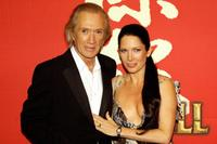 David Carradine and Annie Bierman at Munich for the German premiere of Quentin Tarantinos film