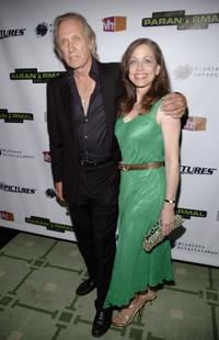 David Carradine and Attorney Vicki Roberts at the Social Club for the Launch Party For Vh1s