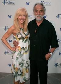 Tommy Chong and Shelby Chong at the Childrens Health Environmental Coalitions (CHEC) annual benefit held at a private residence.