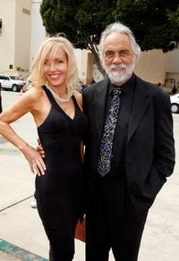 Tommy Chong and Shelby at the Pasadena Civic Auditorium for the 2007 NCLR ALMA Awards.