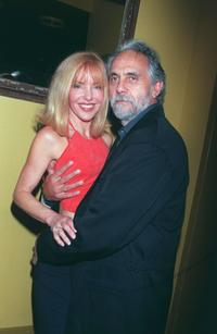 Tommy Chong and Shelby Chong at the Conga Room for the South Park party.