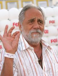 Tommy Chong at Santa Monica Pier for Fox All-Star Television Critics Association party .