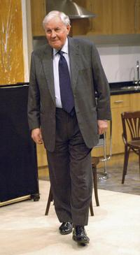 Richard Briers perform as part of