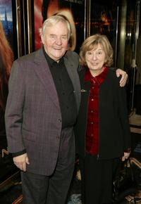 Richard Briers at the World Premiere of