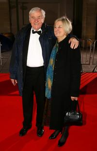 Richard Briers and Guest at the 56th Annual Variety Club Showbiz Awards.