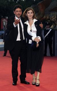 Sergio Castellitto and Margaret Mazzantini at the premiere of
